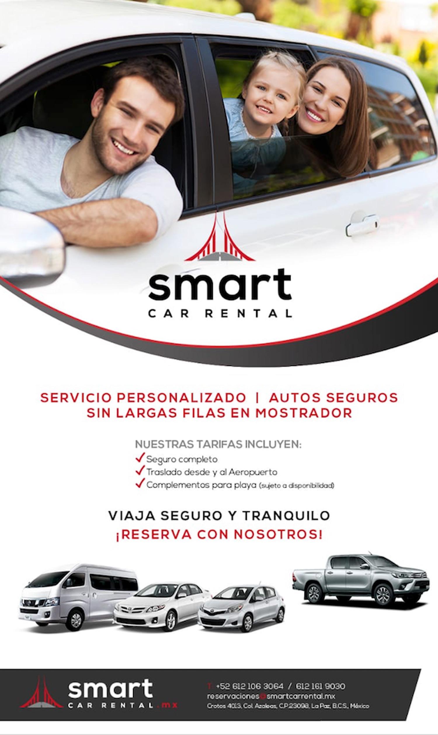 Viaja Seguro con SmartCarRental